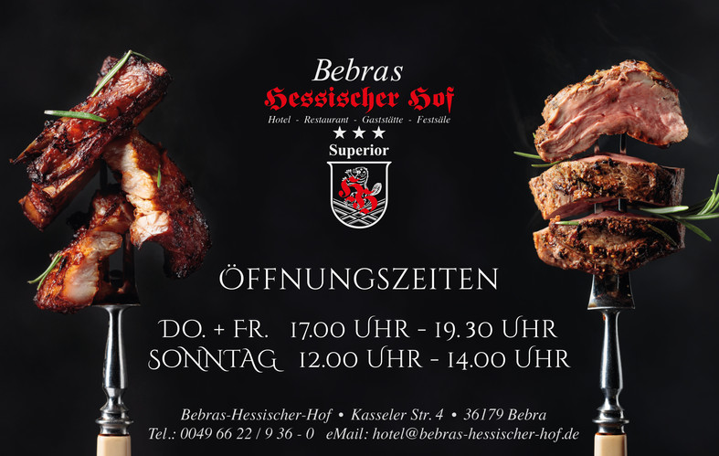 Bebras Hessischer Hof Öffnungszeiten