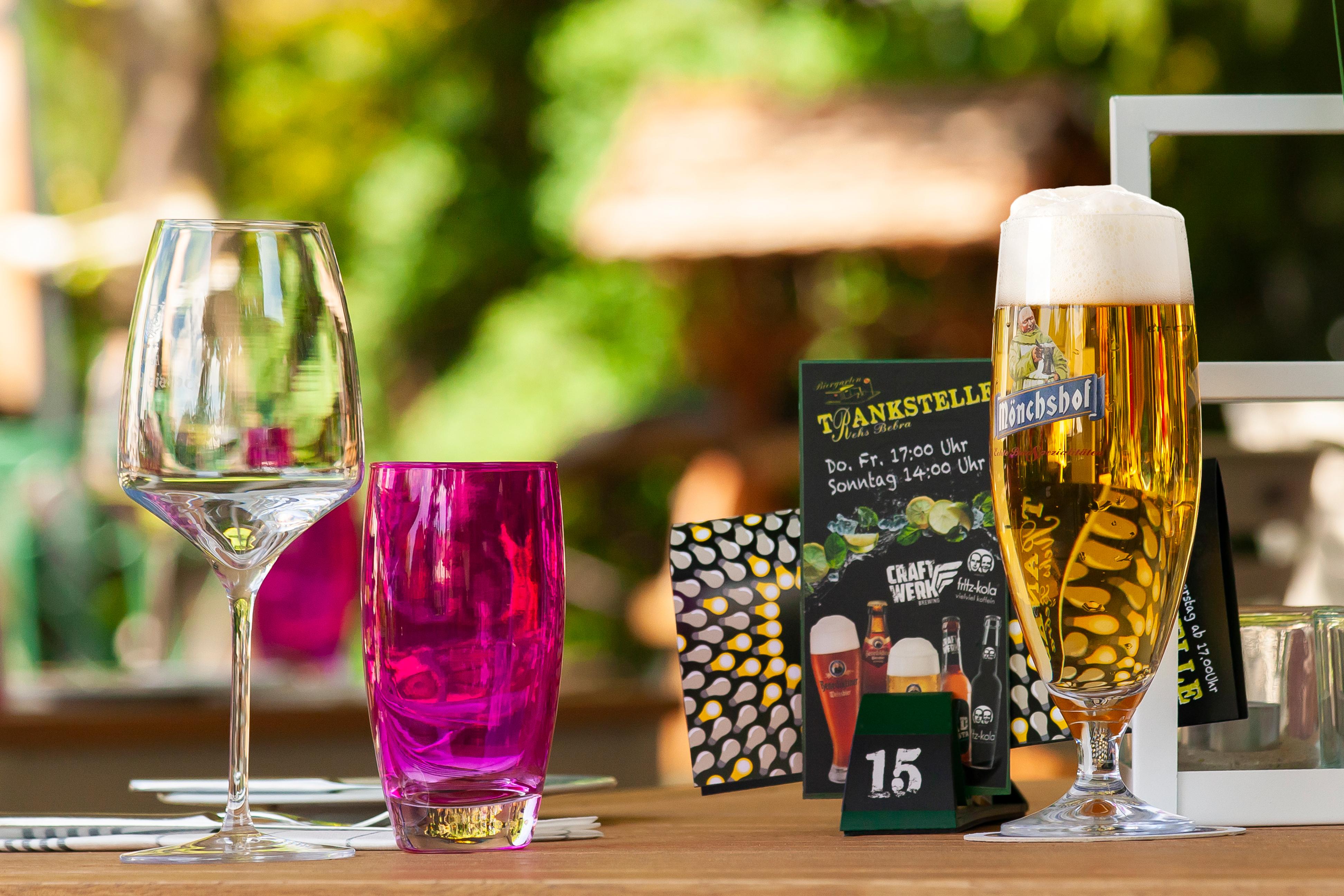 Esszimmer Nature + Biergarten