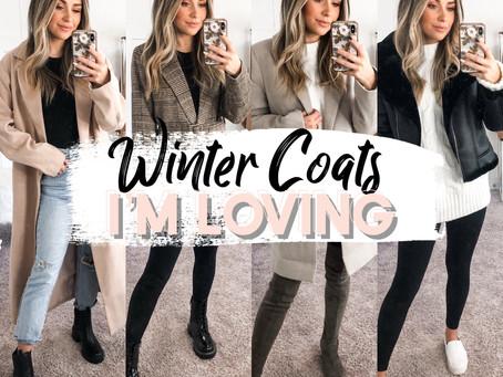 Winter Coats I'm Loving