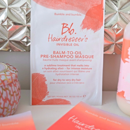 First Impression + Review: Bumble and bumble Balm-To-Oil Pre-Shampoo Masque