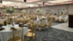 Banquet Hall With Chiavari Chairs