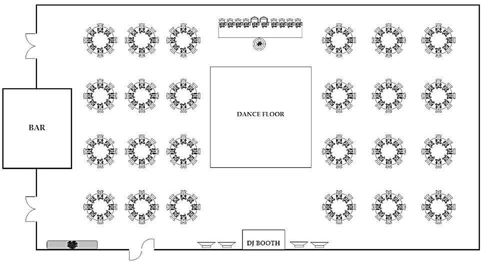 Sample Seating Chart 175 - 250 Guests.jp