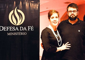 Pastores Tassos Lycurgo e Camila Lycurgo