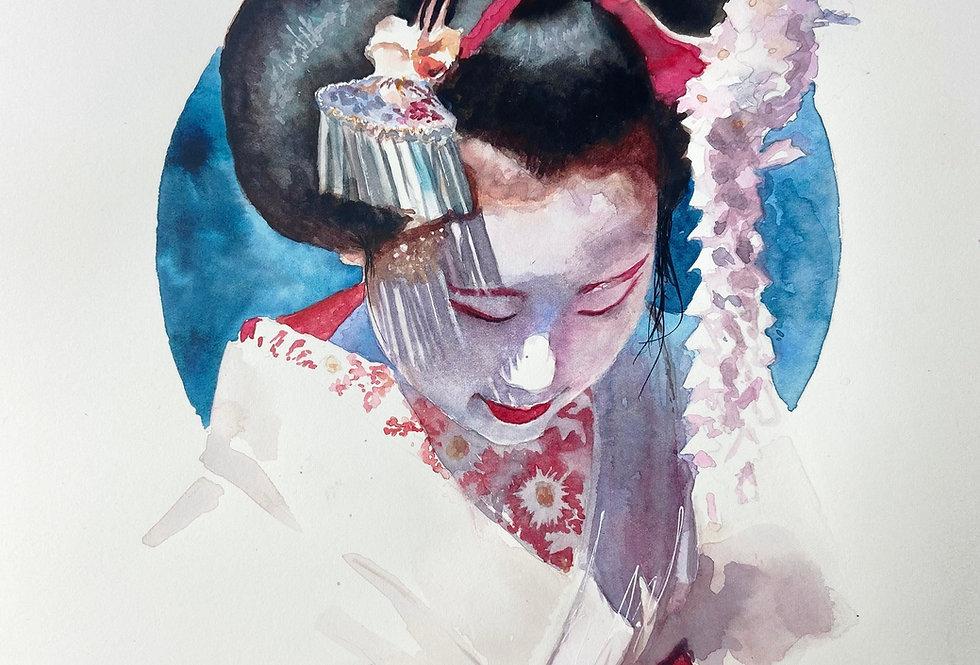 Geisha in Shadow