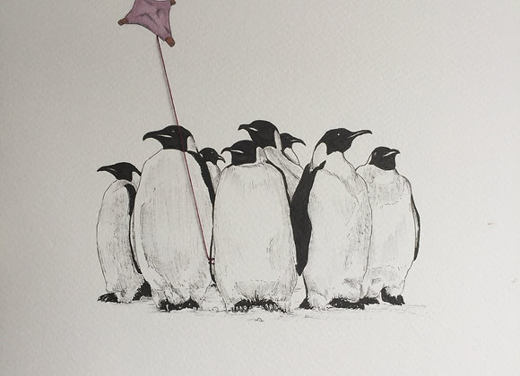 Penguins kite