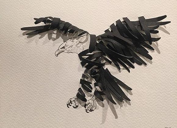 Ribbon eagle