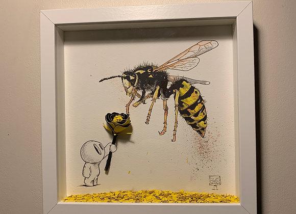 52.Wasp flower