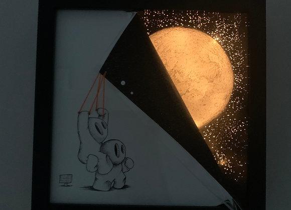 Bright night Lightbox