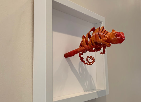Deconstructed3D Red Cham-Dragon