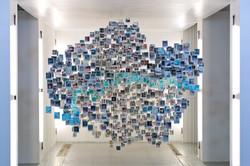 Damilola's Polaroid installation