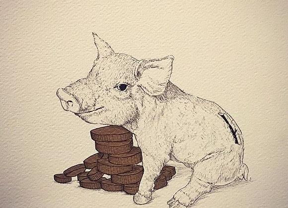8.Piggy bank