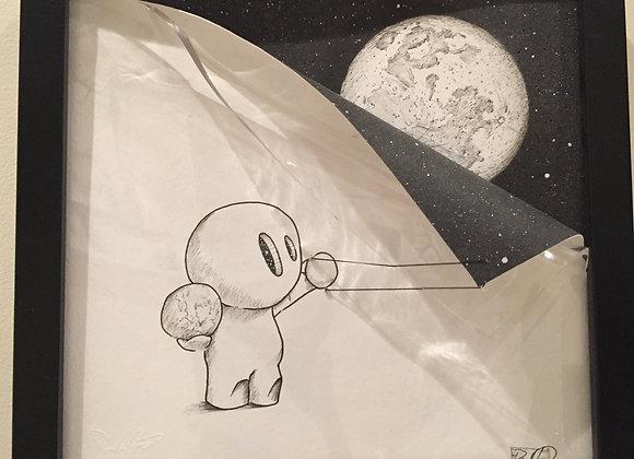 Earth and Moon Lightbox