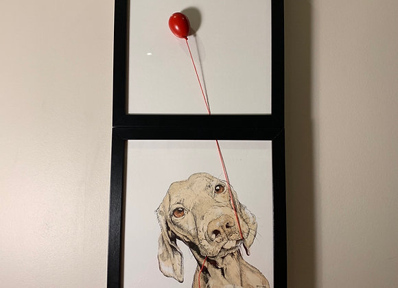 82/83. Double Hound and balloon