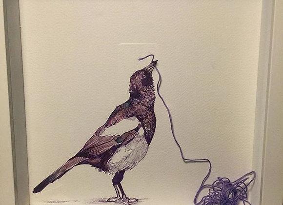 17.Magpie Purple String