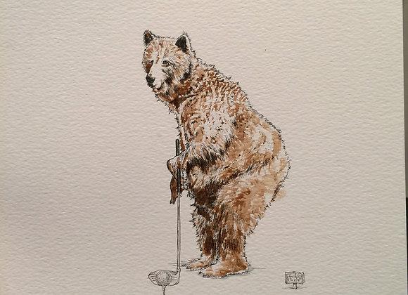 Coffe Bear Golf