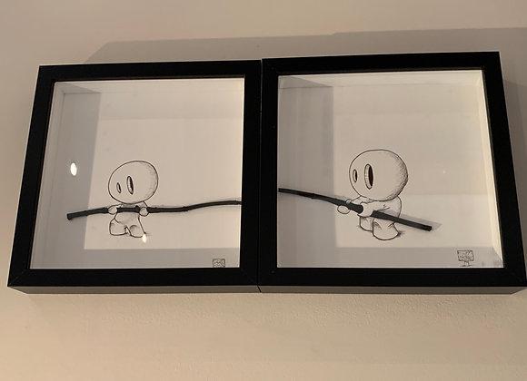 Double twig double character