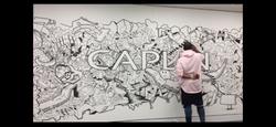 Caplin Logo Mural and Timeline