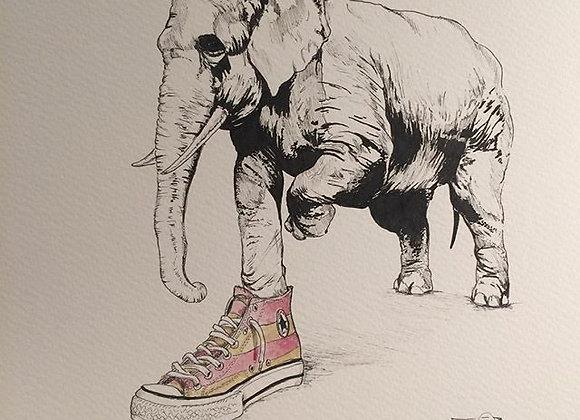 Elephants Sneakers