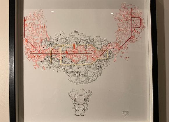Central /Circle Line Underground Map