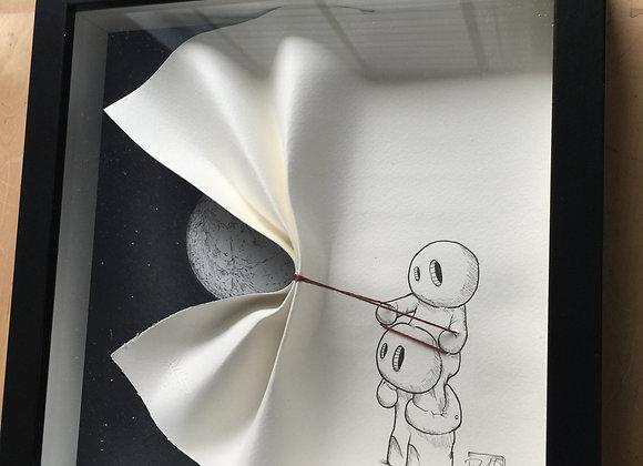 Friends -Moon Paper Reveal