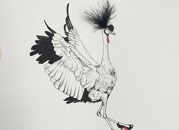 Crane Feather