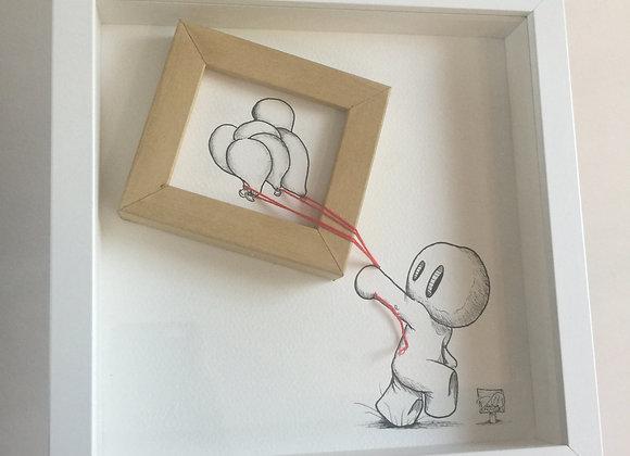 3.Balloons in a framed frame
