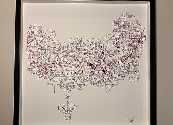 Central Line Underground Map