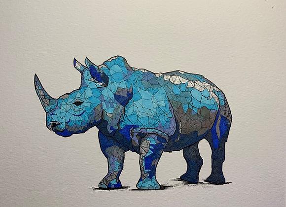 Blue rhino geometric