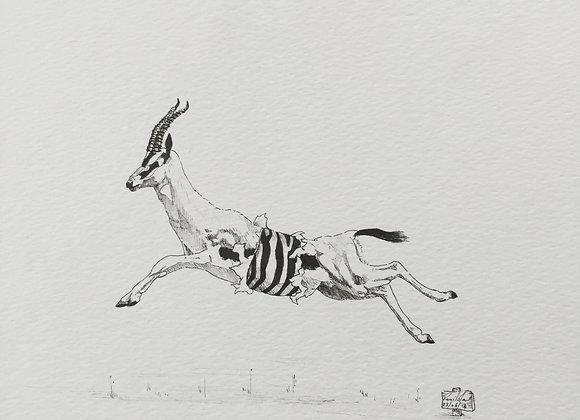 Deconstruct Deer jump web 2