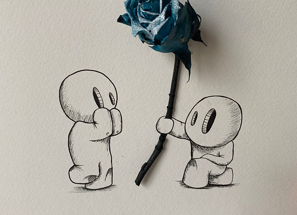 10.Blue rose for you
