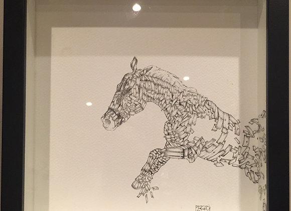 Horse wood deconstruct