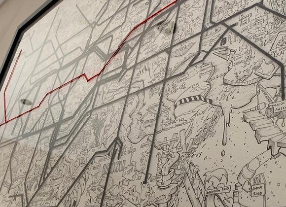 Map of London Underground 2020 Orig