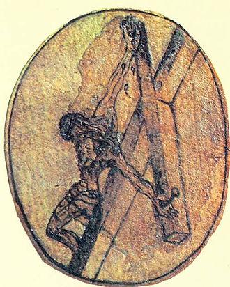 Cristo desenhado por São João da Cruz_