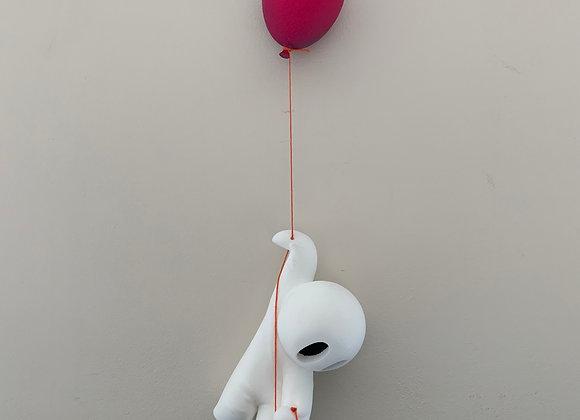 Pink Balloon Hanging