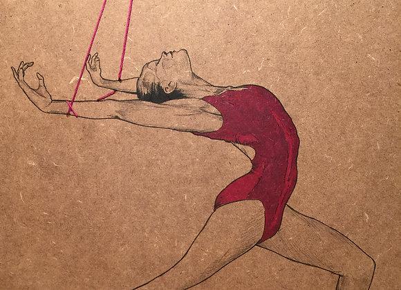 Ballet String Red