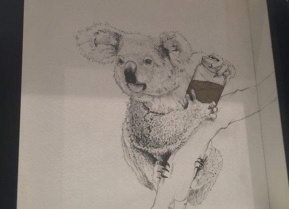 Koala Gold Jar
