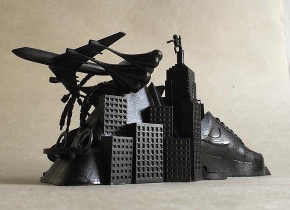 Airforce 1 Sculpture Black