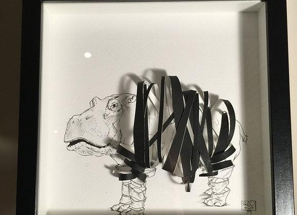Ribbon Hippo