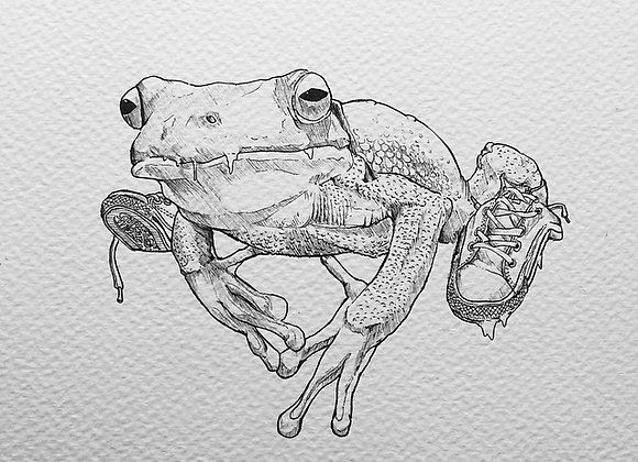 frog sneak