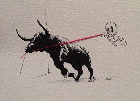 Bull Pull Black
