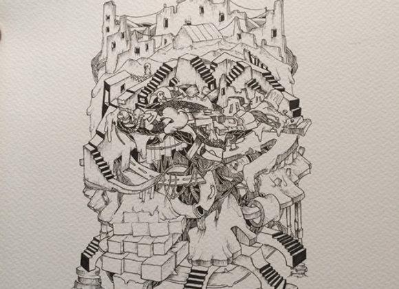 Large city scape