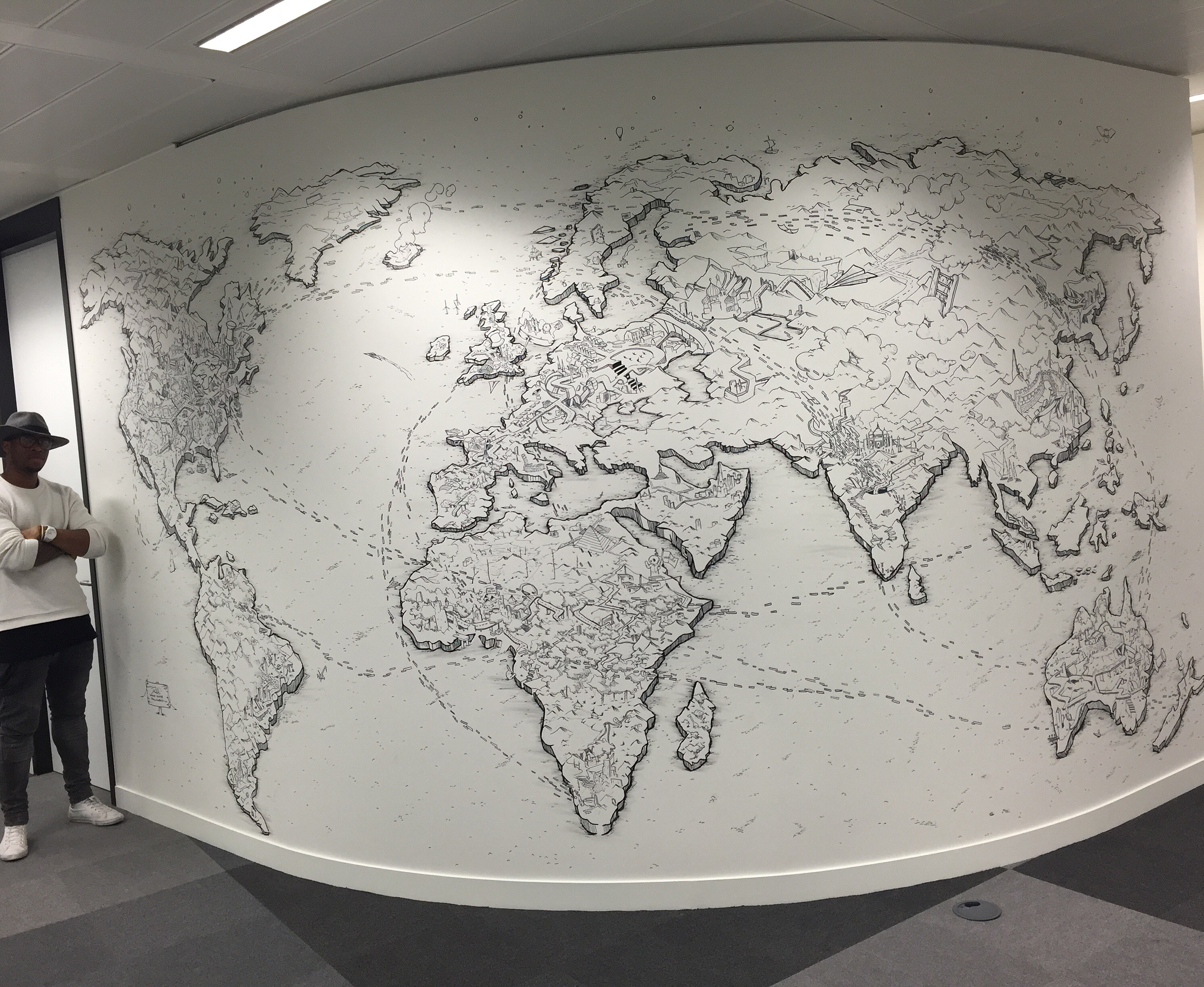 World Remit -world map