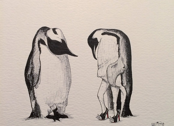 Louboutins and Penguin