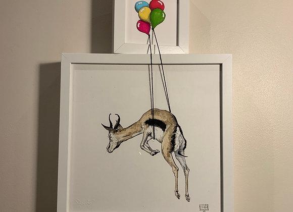 Gaz and balloons