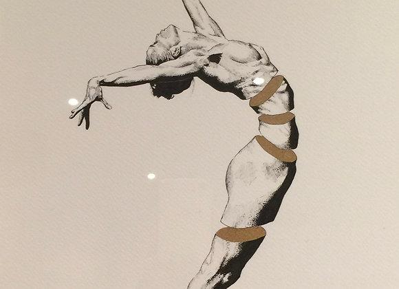 Gold Ballet Figurative