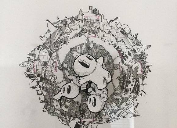 1.Clock chaos no.4