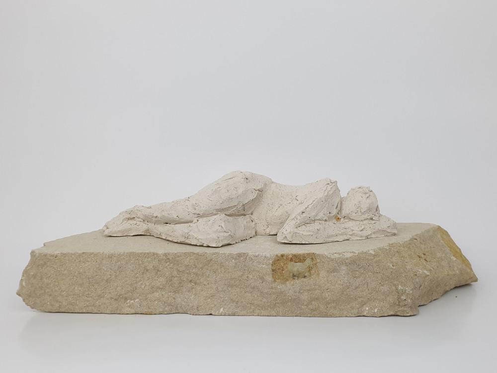 03 - 2018 - Ton und Sandstein - 31,5 x 8,5 x 12 cm