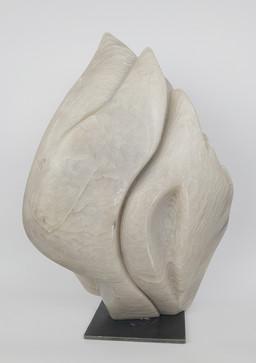 17 - 2013 - Speckstein und Eisen - 25 x 36,5 x 13 cm