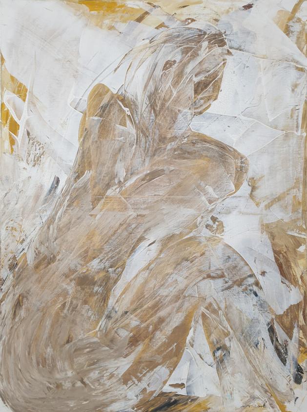 22 - 2012 - Gouache auf Leinwand - 60 x 79 cm