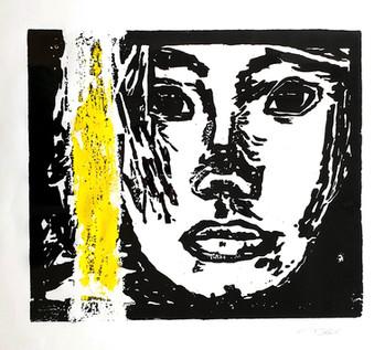28 - 2018 - Holzdruck - 59 x 48 cm